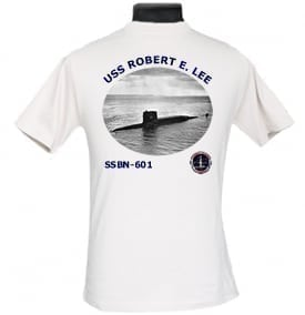SSBN 601 USS Robert E Lee 2-Sided Photo T Shirt