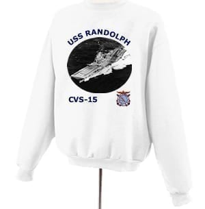 CV 15 USS Randolph Photo Sweatshirt