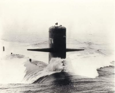 SSN 674 USS Trepang Framed Picture 1