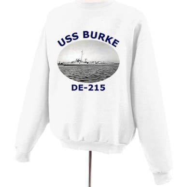 DE 215 USS Burke Photo Sweatshirt