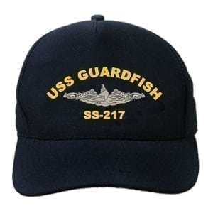 SS 217 USS Guardfish Embroidered Hat