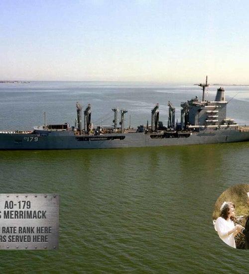 US Navy Auxiliary Ship Metal Photo Prints